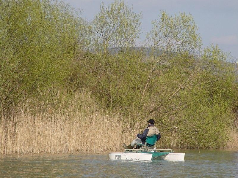 070 Titus on Ghioroc lake